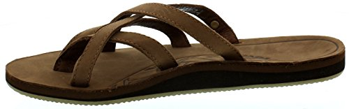 Teva Olowahu Leather Ws Damen Sport- & Outdoor Sandalen Braun (bison 561)