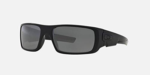 Oakley Crankshaft Polarized Sunglasses-Matte Black/Black - Polarized Crankshaft