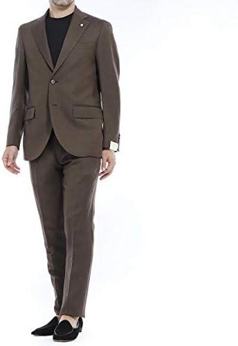 シングル 2つボタンスーツ/REGULAR メンズ [並行輸入品]