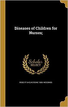 Book Diseases of Children for Nurses: