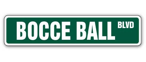 BOCCE Street balls Indoor Outdoor