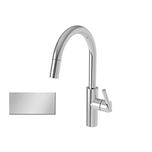 Newport Brass 1500-5113/15S East Linear Pull-Down Kitchen Faucet Satin Nickel ()