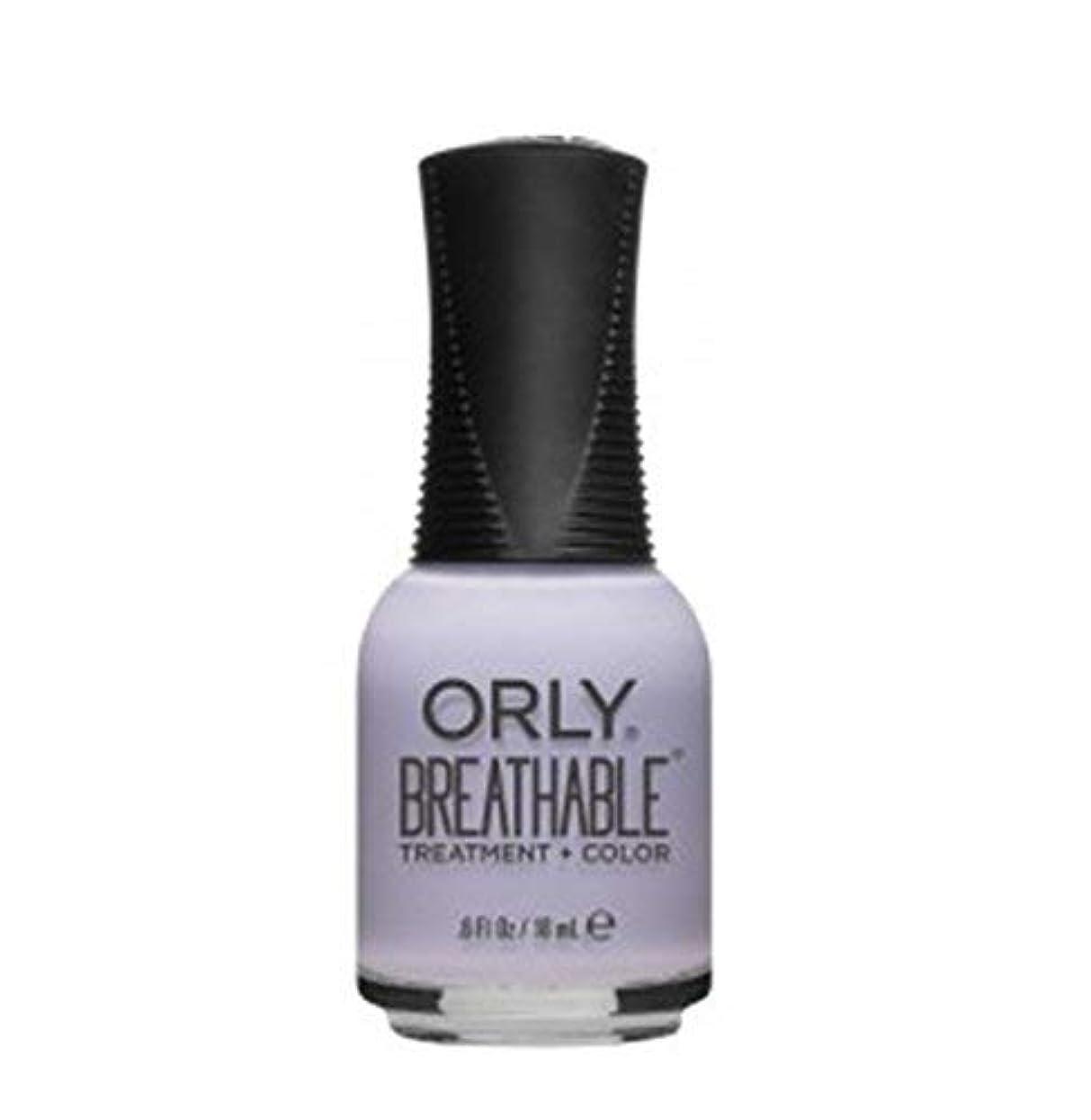 内訳辞書真似るORLY Breathable Lacquer - Treatment+Color - Patience and Peace - 18 ml/0.6 oz