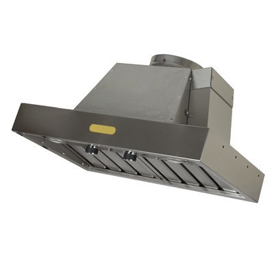 Foremost FRHI-30S Professional Series Range Hood Insert, Brushed Stainless Steel (Range Hood Professional Blower)