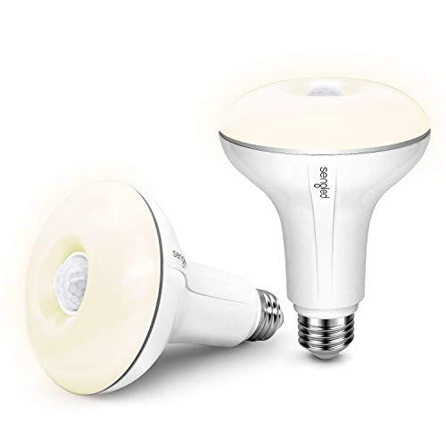 Sengled LED with Motion Sensor (Smartsense), Soft White 2700K, BR30 65W Equivalent, Indoor Use, 2 Pack