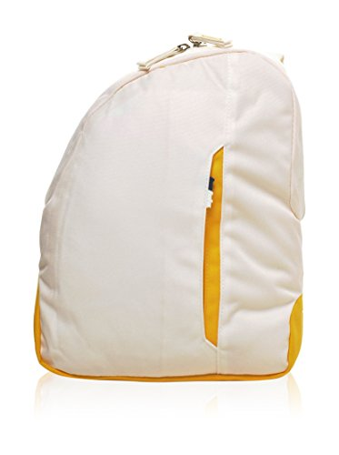 Invicta Zaino Monospalla Monoshoulder B-Color Bianco/Giallo