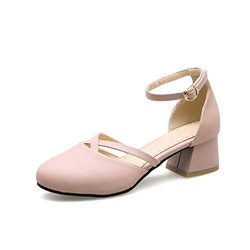 5 Aimint Compensées Rose Rose 36 EYR00218 Sandales Femme qTwq08ag