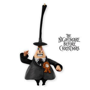 QXE3006 The Mayor of Halloween Town Tim Burton's The Nightmare Before Christmas Special Edition 2010 Hallmark Keepsake Ornament