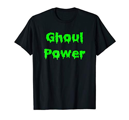 Ghoul Power Shirt, Funny Feminist Halloween Costume ()