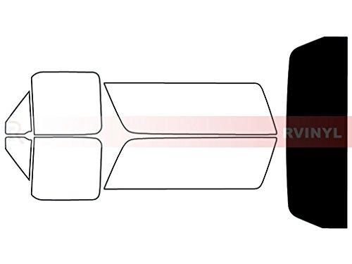 (Rtint Window Tint Kit for Ford Bronco 1990-1996 - Rear Windshield Kit -)