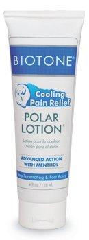 Biotone Polar Lotion, 4 Ounce (Relief 4 Ounce Tube)