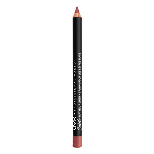 NYX PROFESSIONAL MAKEUP Suede Matte Lip Liner, Cyprus, 0.035 Ounce