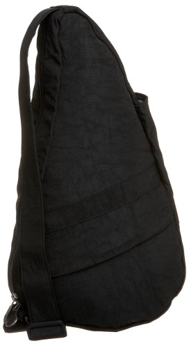 AmeriBag X-Small Distressed Nylon Healthy Back Bag Tote, - Womens Bag Ameribag