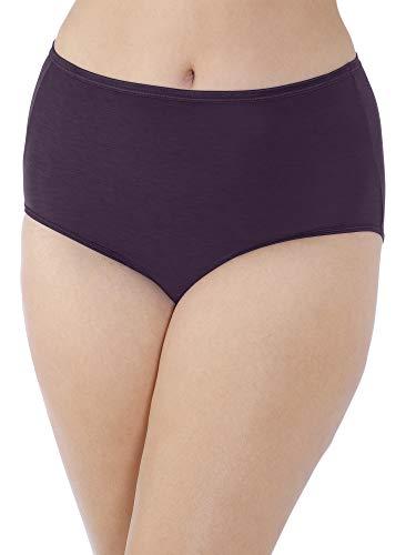 (Vanity Fair Women's Plus Size Illumination Brief Panty 13811, Sangria, 5X-Large/12)