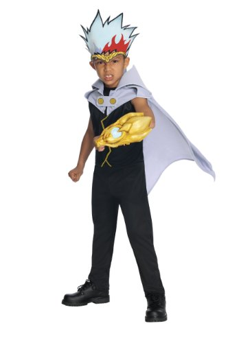 Beyblade Metal Fusion Ryuga Costume - (Blades Of Time Costumes)