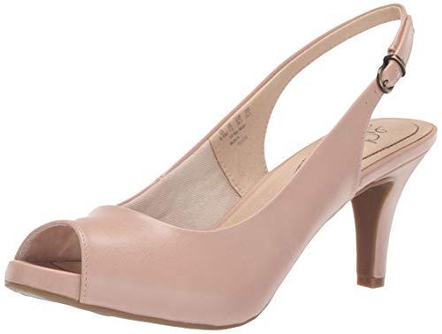 (LifeStride Women's Teller Heeled Sandal Blush 6 M US)