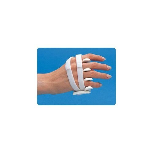 LMB Soft Core Wire-Foam Ulnar Deviation Splint,Medium Right2⅞