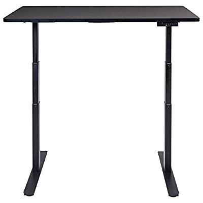 """53"""" 7-Button Electric Height Adjustable Sit-Stand Desk Standing Dual Motor + FREE E - Book"""