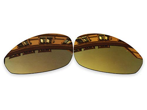 Vonxyz Lenses Replacement for Oakley Monster Dog Sunglass - Bronze MirrorCoat Polarized