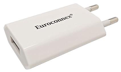 Euroconnex - Cargador USB con una salida de 220V-5V 1A ...