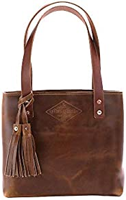 Small Deluxe Leather Tote Bag For Women, Small Leather Bag, Leather Handbag, Gift for Her, Diaper Bag, Laptop