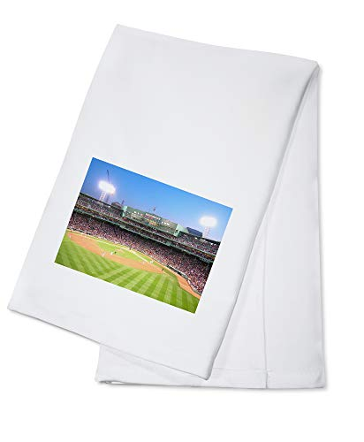 (Boston Massachusetts Game at Fenway Park Photography A-91114 (100% Cotton Kitchen Towel) )