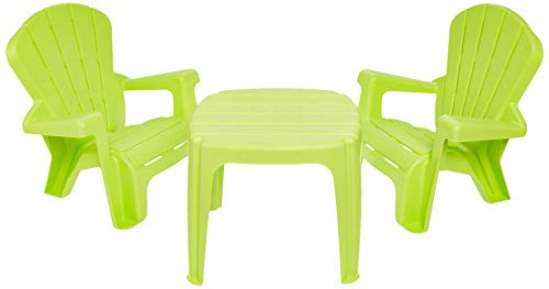 Little Tikes Garden Table and Chairs Set, Green