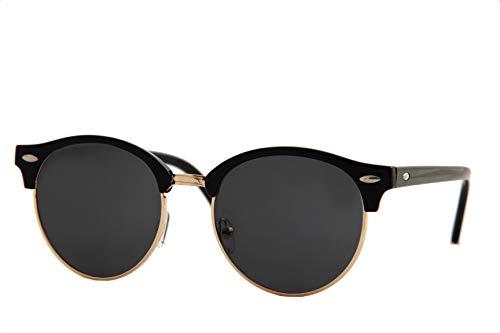 6c2d256e762 Jual IVOZZO - Classic Semi-Rimless Round Frame Mirror Sunglasses ...