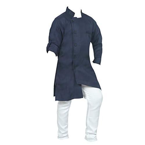 31jDKNltfrL. SS500  - Ahhaaaa Kids Ethnic Wear Indo Western Kurta and Pyjama Set for Boys