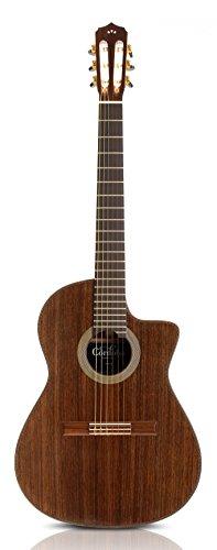 Cordoba Fusion 14 Rose Acoustic Electric Nylon String Classical Guitar