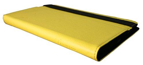 Visual Land Prestige 7-Inch Pro Folio Case, Yellow (ME-TC-017-YEL)