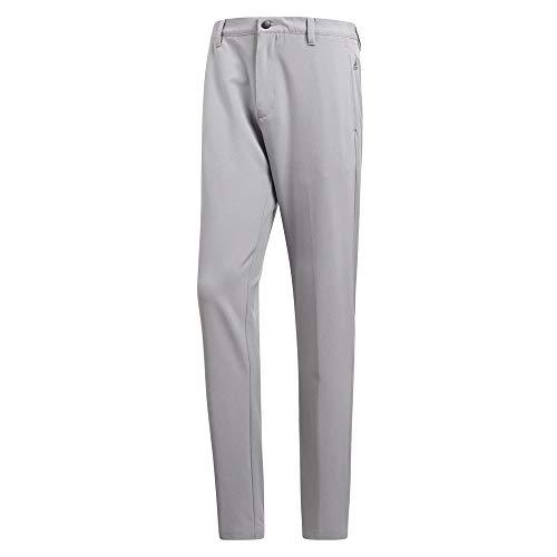 (adidas Golf Men's Adi Ultimate 3 Stripe Pants, Mid Grey, Size 40/32)