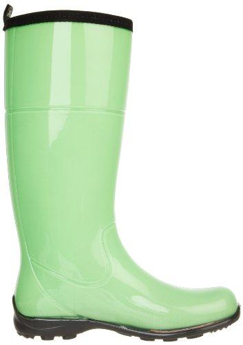 Kamik Kvinners Naomi Regn Boot Neon Grønn