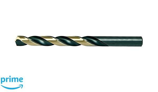 "118° Point USA Alfa Tools 13//64/"" Super High-Speed Steel Jobber Length Drill Bit"