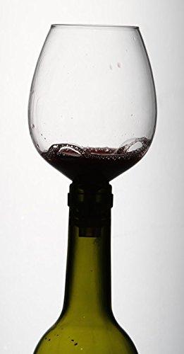 Botella Buddy – el con copa de vino