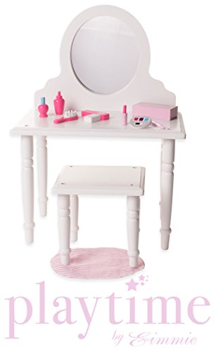Upc 863517000341 Vanity Stool Set W Accessories Eimmie 18