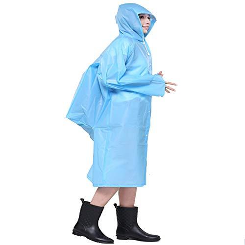 imperméable en voyage électrique à Bleu de translucide sac de écologique dos poncho de plein véhicule air Yuch de de vSqxwaIqP