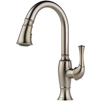 Brizo 63003LF-SS Talo Kitchen Faucet with Pullout Spray