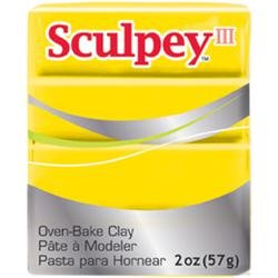 (Sculpey Bulk Buy Polyform Sculpey III Polymer Clay 2 Ounces Yellow S302-072 (5-Pack))