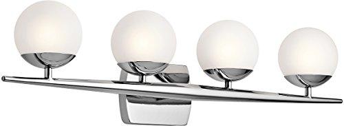 (Kichler 45583CH Jasper 4-Light 4-Arm Bath Vanity in)
