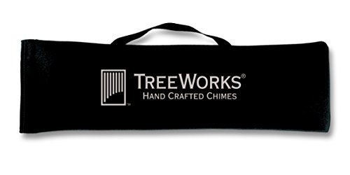 Chime Case - TreeWorks Chimes LG24 Large Soft-Sided Gig Bag and Transport Case for Wind Chimes or Bar Chimes up to 24
