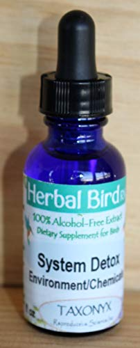 Taxonyx Science Inc Herbal Bird Rx System Detox 2oz - Compare to AVITECH