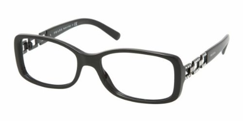 Prada PR 13 MV (1AB1O1) GLOSS BLACK 53mm 16mm