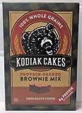 Kodiak Cakes Chocolate Fudge Brownie Mix (Pack of 36)