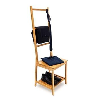 42 Vêtements Avec 3 Serviettes Relaxdays 40 Chaise Bambou Salle ChambreNature Porte Assise Hxlxp133 X Cm De Bain Barres Étagère 10019172 QrhBotsdxC