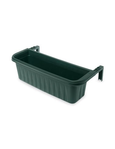 Adjustable Self Watering Railing Planter 24