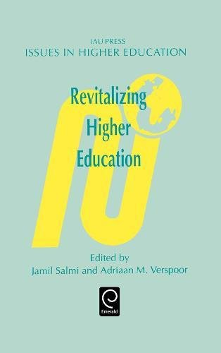 Revitalizing Higher Education (Issues in Higher Education) (Issues in Higher Education) (Language & Communication Library) by J Salmi
