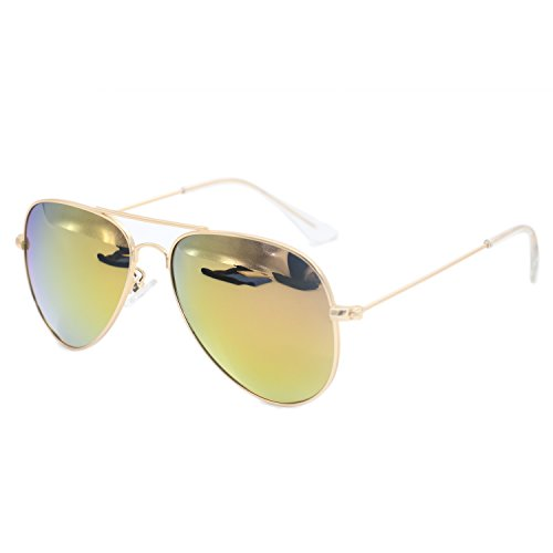 Evebright Kid's Child(2~9yr Old) Classic Uv 400 Polarized Aviator - Aviator Sunglasses Child