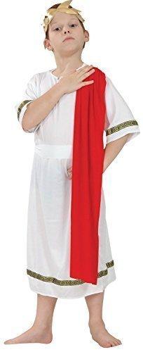 Bristol Novelty Traje Emperador Romano (L) Edad aprox 7-9 años