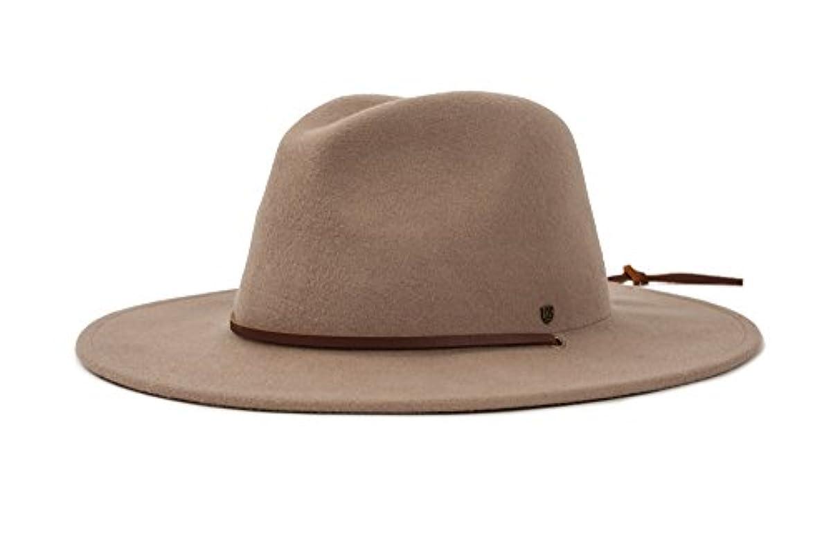 Brixton Men s Field Wide Brim Felt Fedora Hat  075ee4f2ab7